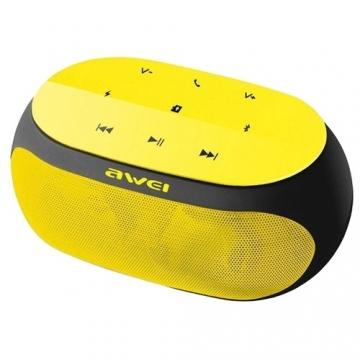 Колонка Bluetooth Awei Y200 желтая