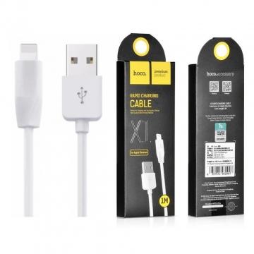 USB cable (кабель) lightning Hoco X1 Rapid 1м