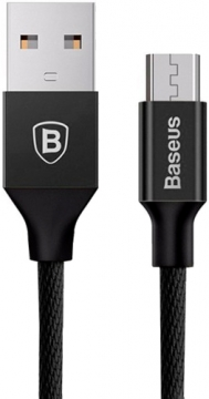 USB Cable (кабель) microusb Baseus CAMYW-A Yiven 1m