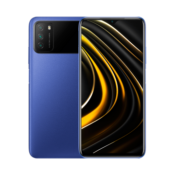 Xiaomi Poco M3 (4/128) NEW Cool Blue (не тестирован в IDC)