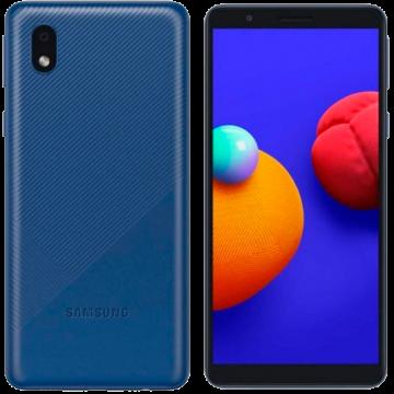 Samsung Galaxy A01 (2/32) NEW синий VoLTE Only