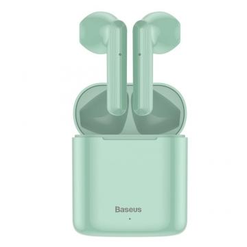 Наушники Baseus Bluetooth W09 (NGW09) зелёные